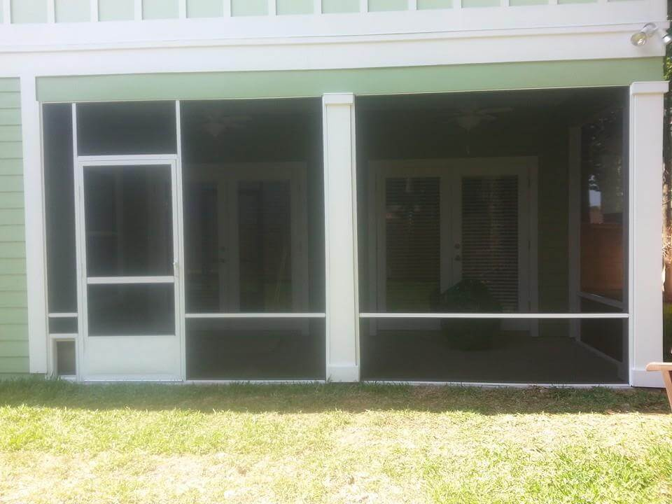 Home Jacksonville Sunroom Screen Enclosure Co Builds Your Ideal